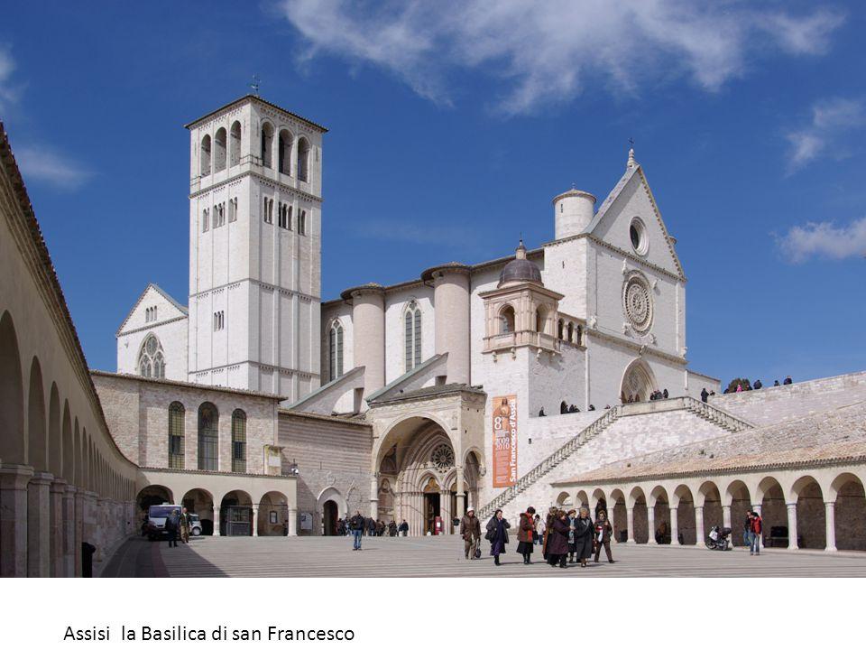 Assisi la Basilica di san Francesco