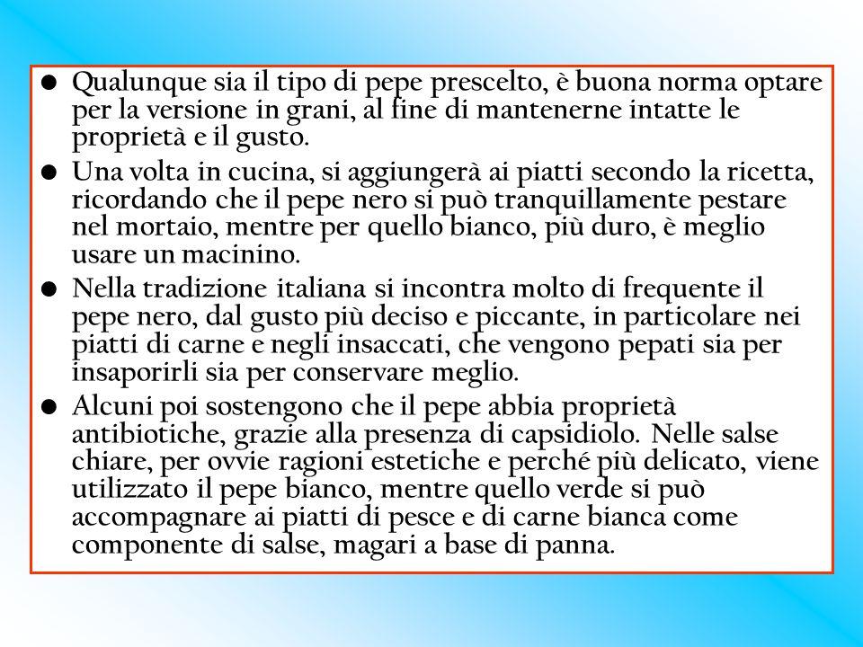 Tossicologia del pepe: In realtà la tossicologia del pepe nero o bianco è limitata.