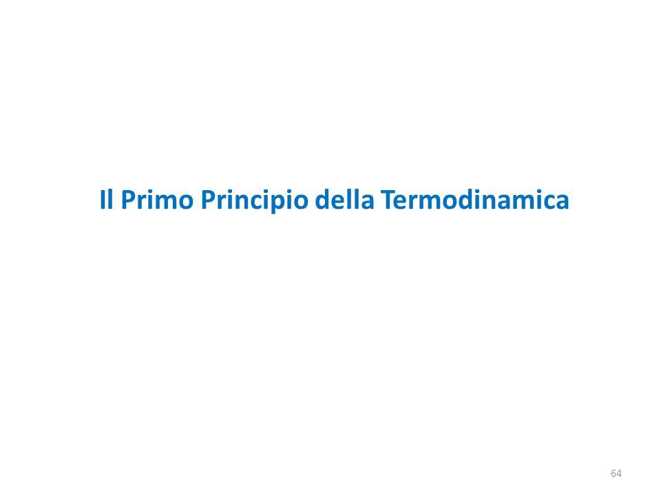64 Il Primo Principio della Termodinamica