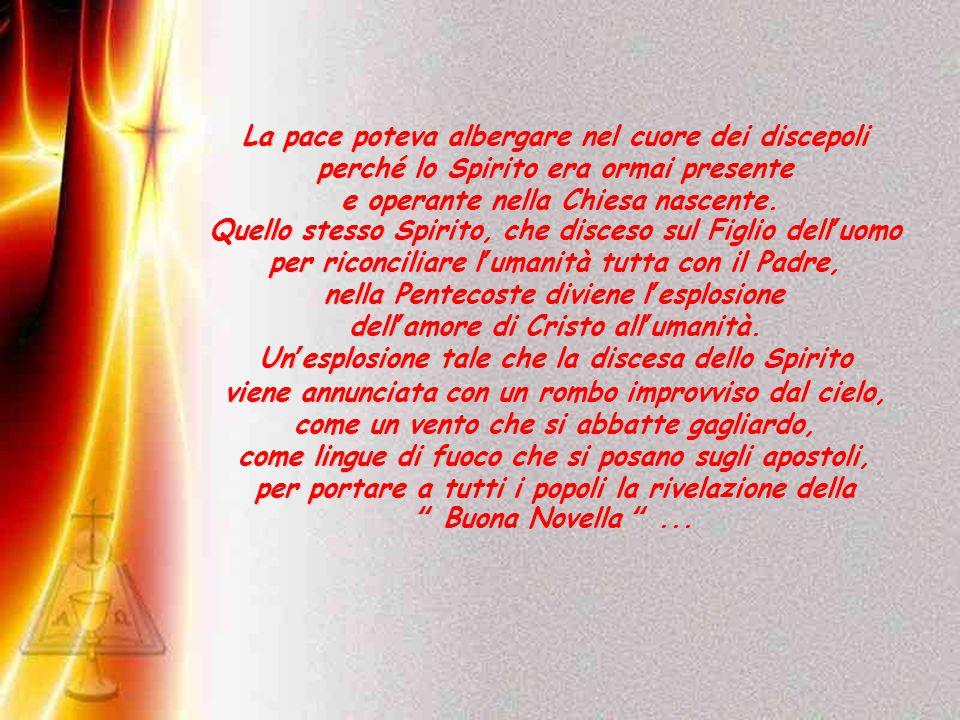 Vieni, Santo Spirito Vieni, Santo Spirito manda a noi dal cielo un raggio della tua luce.