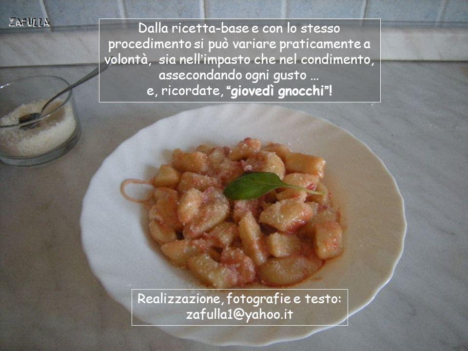 Ed ecco il piatto finito, nella versione filante , semplice, veloce, ma anche gustosa e delicata.