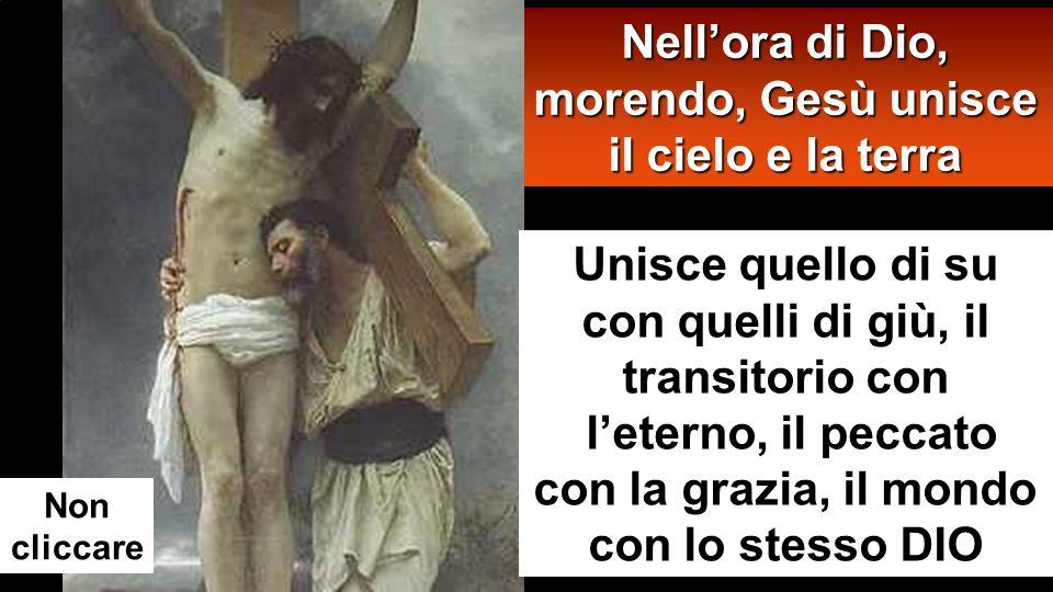 Gesù, Agnello immolato, offre il suo Corpo come Alimento Ci ha dato il più grande esempio d'abbassamento Non cliccare