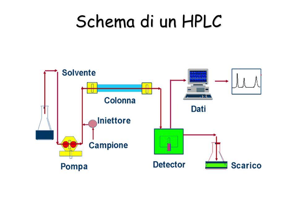 Schema di un HPLC