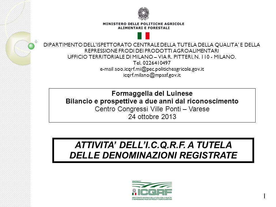 ATTIVITA' DI VIGILANZA LEGGE 27 DICEMBRE 2006, N.296 ART.