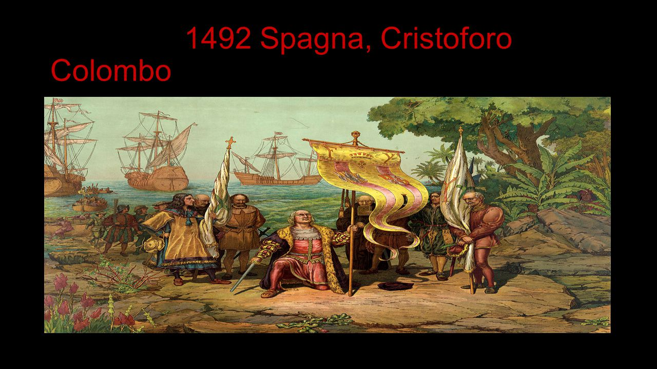 1492 Spagna, Cristoforo Colombo
