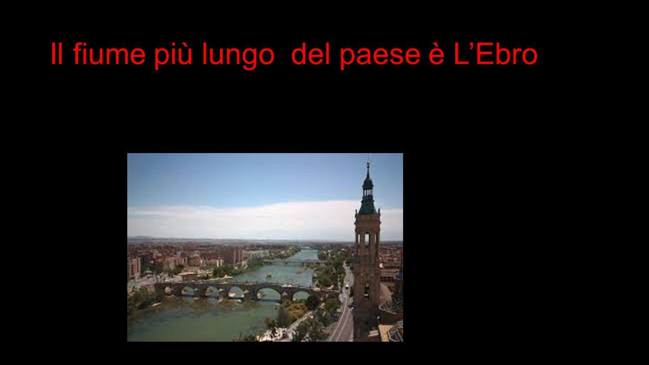 Il f ff fiume più lungo del paese è L'Ebro