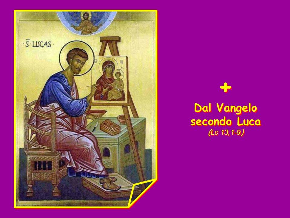 Canto al Vangelo (Mt 4,17 ) Convertitevi, dice il Signore, il regno dei cieli è vicino.