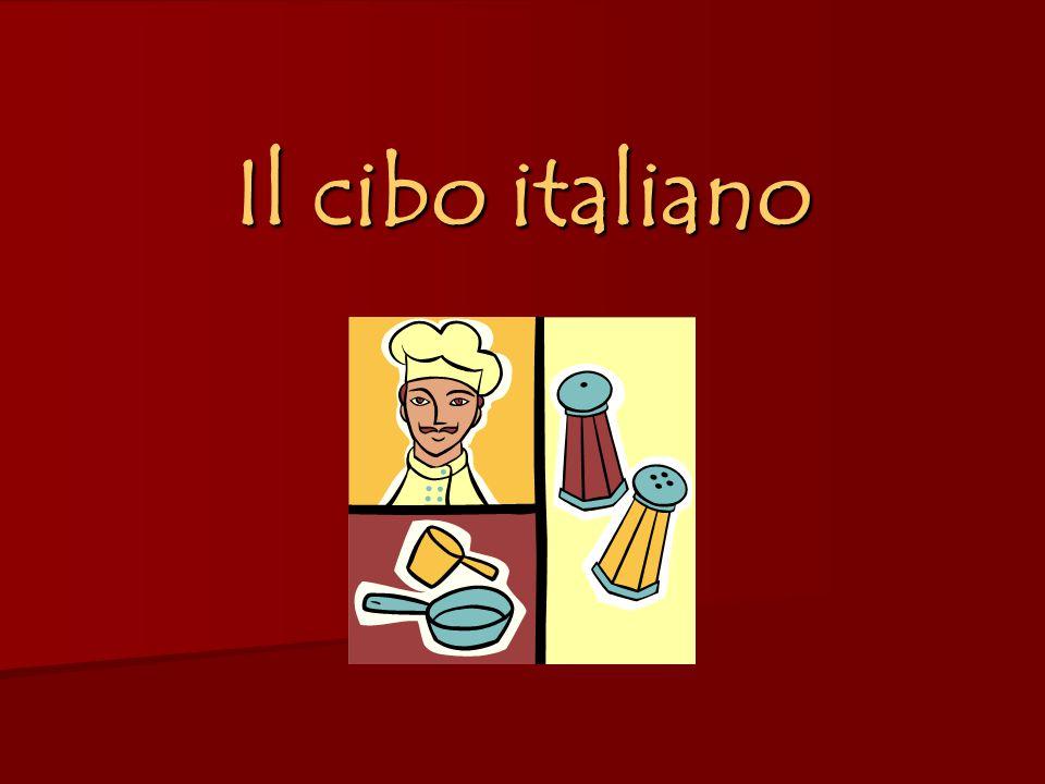I pasti Gli italiani mangiano 3 pasti: La colazione – la mattina Il pranzo – tra 12:00 e 13:00 La cena – intorno alle 19:30 – 20:00