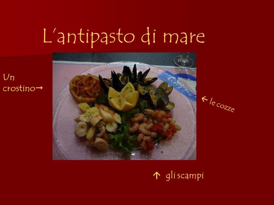 La pasta Il risotto con le seppie