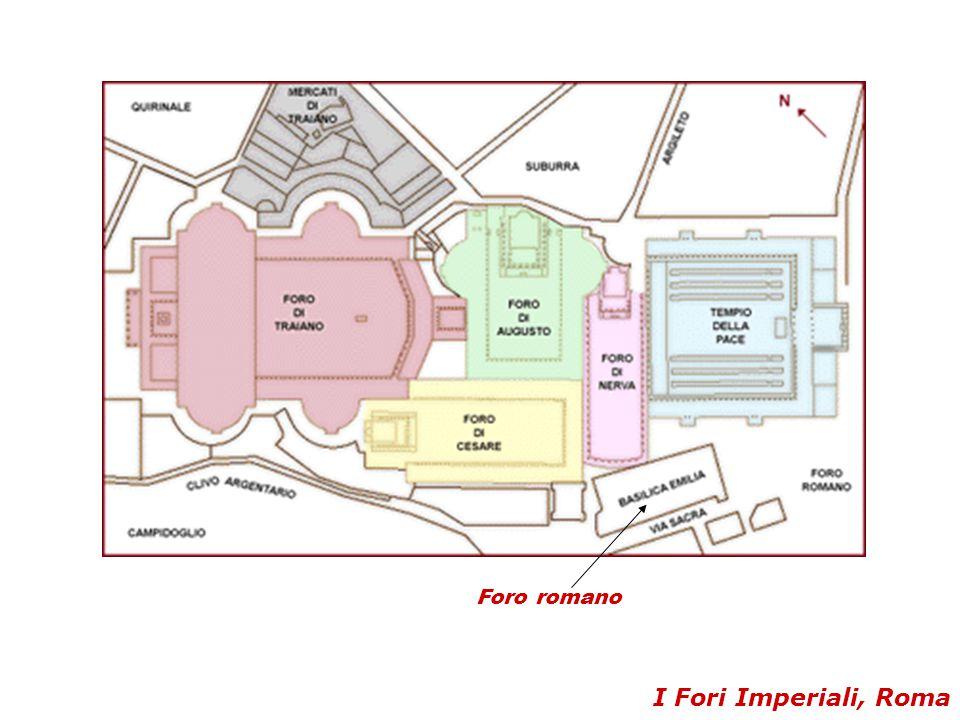 I Fori Imperiali, Roma Foro romano
