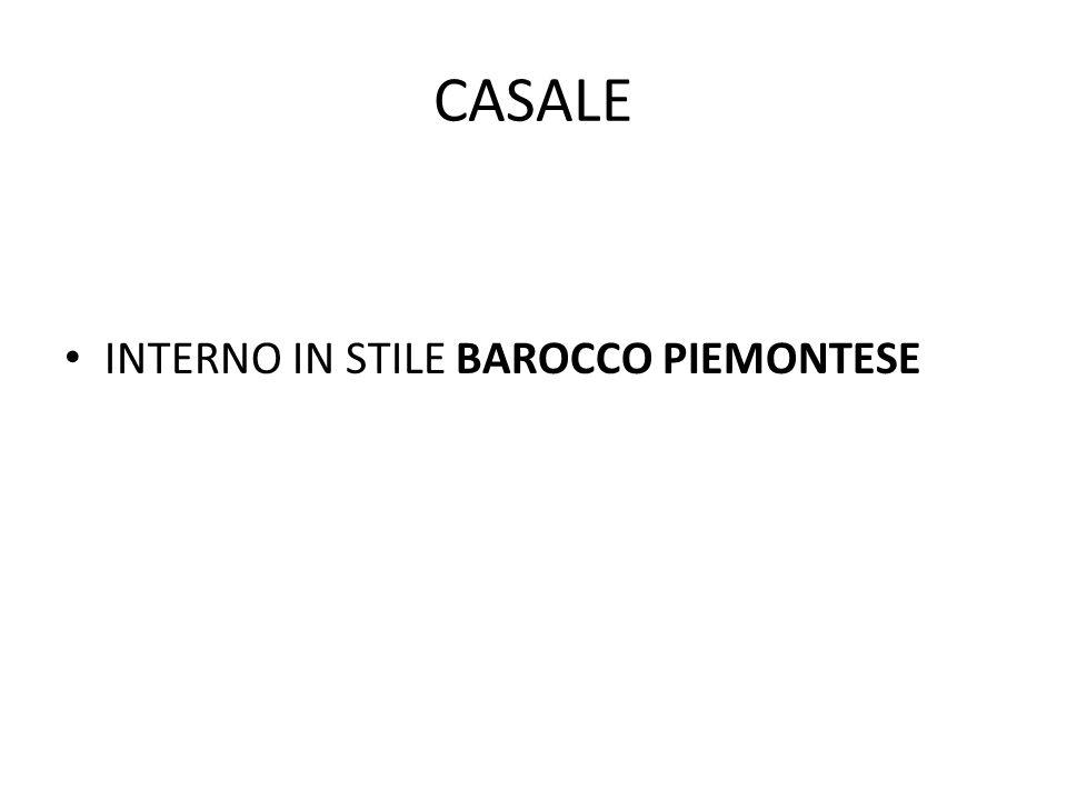 CASALE INTERNO IN STILE BAROCCO PIEMONTESE