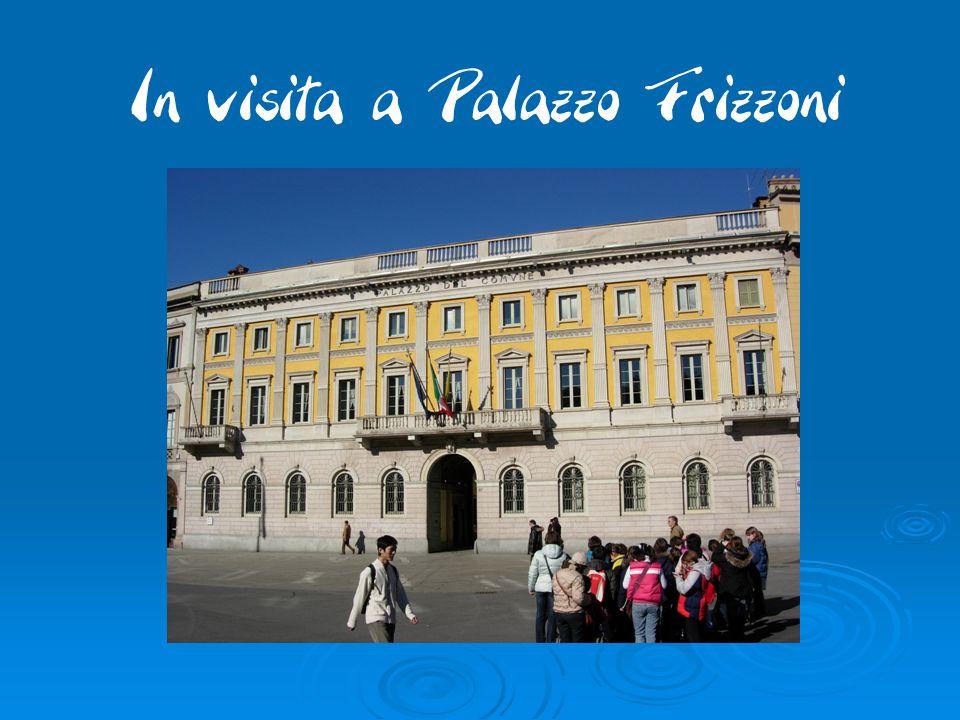 In visita a Palazzo Frizzoni