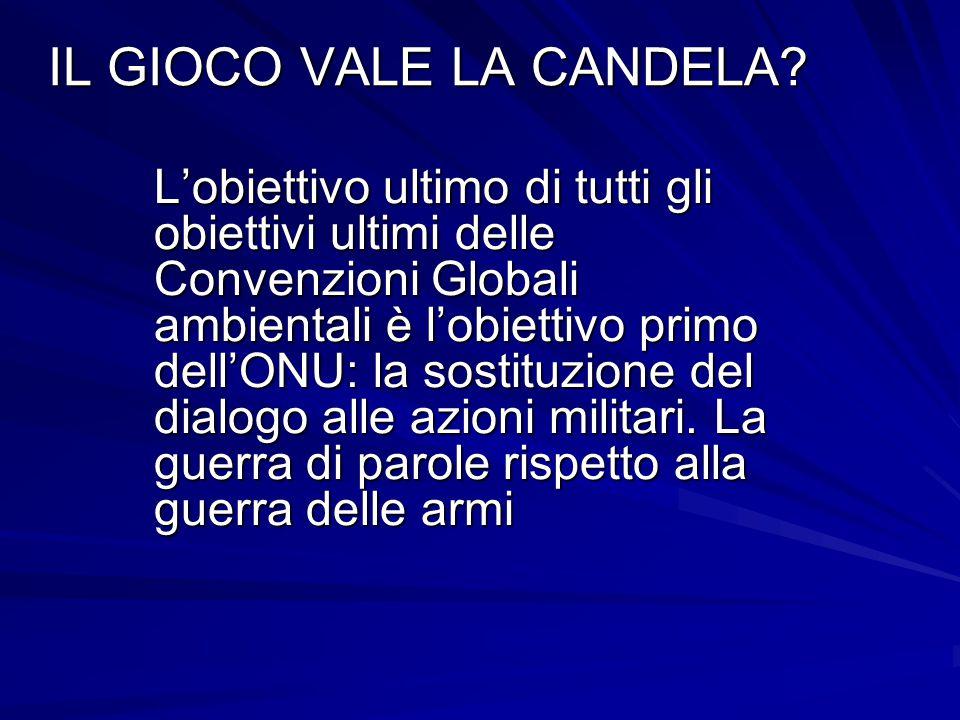 IL GIOCO VALE LA CANDELA.