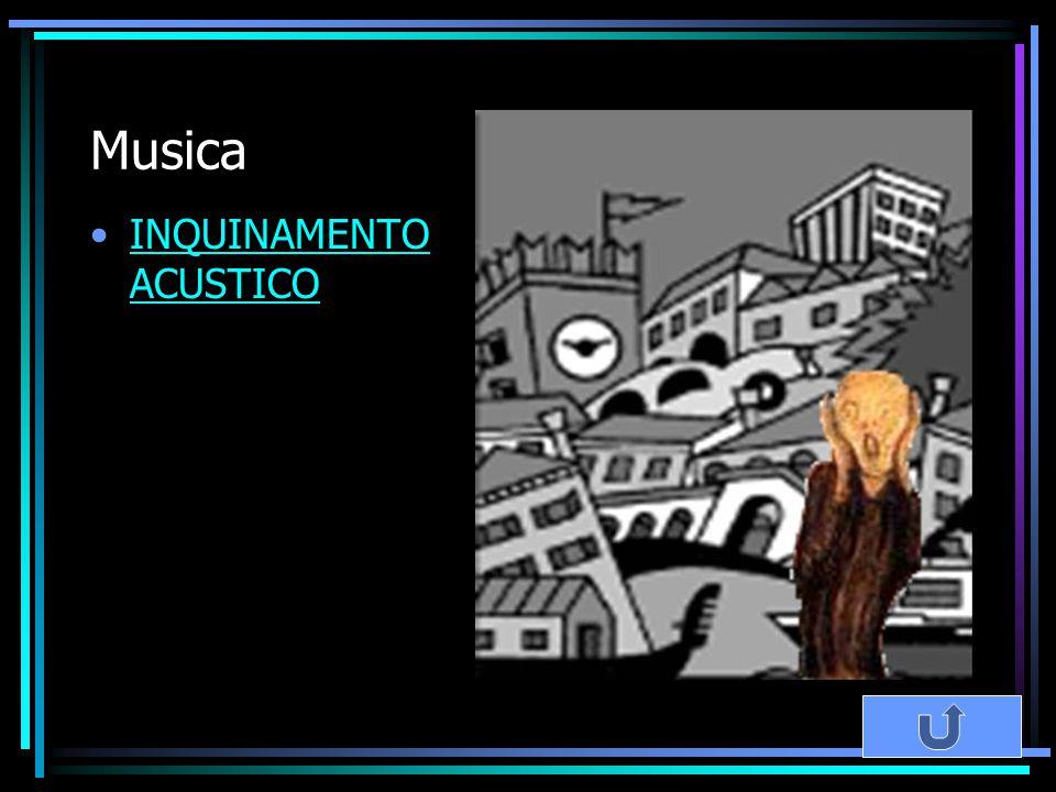 Musica INQUINAMENTO ACUSTICOINQUINAMENTO ACUSTICO