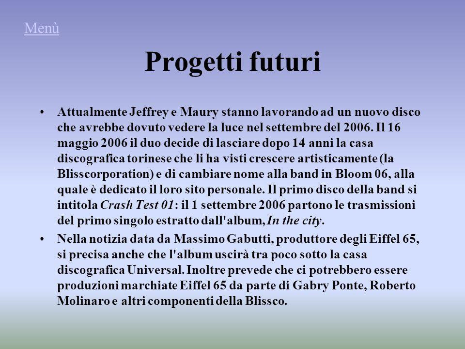 Progetti futuri Attualmente Jeffrey e Maury stanno lavorando ad un nuovo disco che avrebbe dovuto vedere la luce nel settembre del 2006.
