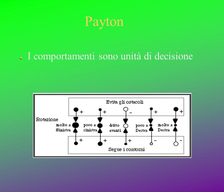 Payton I comportamenti sono unità di decisione