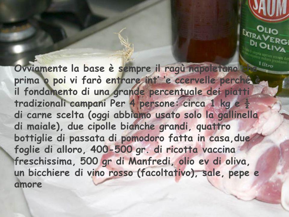 """Manfredi al ragù Napoletano con ricotta Monsù Tina by Aflo """"Accademia d' 'o mmusc' magnà """""""