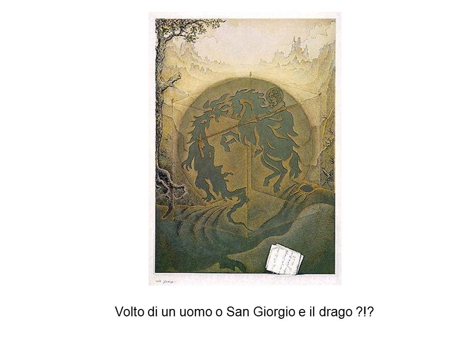 Volto di un uomo o San Giorgio e il drago ?!?