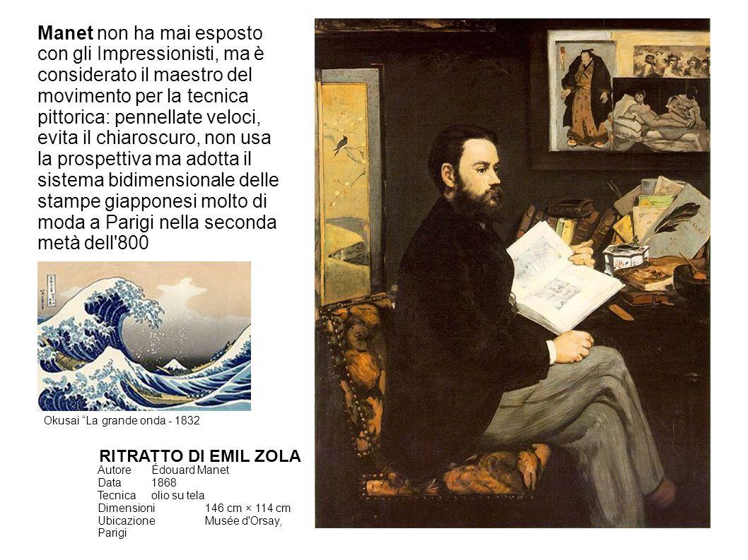 AutoreClaude Monet Data1872 Tecnicaolio su tela Dimensioni48 cm × 63 cm UbicazioneMusée Marmottan Monet, Parig i IMPRESSION AU SOLEIL LEVANT