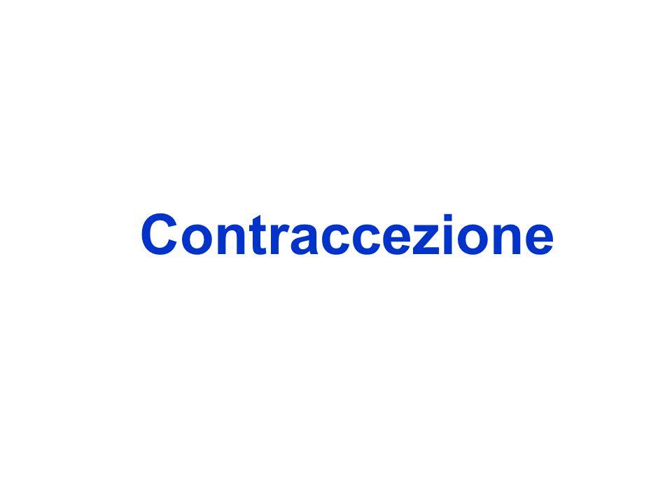 È la temporanea sospensione della fertilità, finalizzata a prevenire, o a programmare, la procreazione.