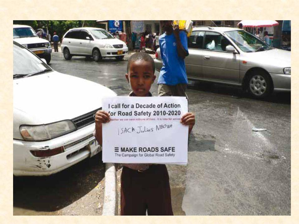 Sostengo la campagna Strade Sicure e chiedo un Decennio di Iniziative che sarà essenziale per salvare vite in tutto il mondo. Oscar Arias Sanchez, Presidente di Costa Rica, Premio Nobel per la Pace