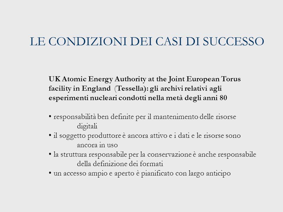 IN EUROPA A LIVELLO NAZIONALE: NESTOR (GERMANIA) Network of Expertise in Long-Term Storage of Digital Resources (2003- ) (http://www.langzeitarchivierung.de/index.php)http://www.langzeitarchivierung.de/index.php La rete, che si ispira al modello britannico della Digital Preservation Coalition, ha l'obiettivo di creare una rete (nella forma di una infrastruttura permanente e distribuita) di esperienze e competenze in materia di conservazione digitale per le organizzazioni tedesche Include: Un forum di discussione Un sistema di informazione e comunicazione Criteri per la costituzione di depositi digitali certificati Raccomandazioni per l'acquisizione e la selezione di risorse digitali Raccomandazioni e linee guida e policy La condivisione di studi e progetti