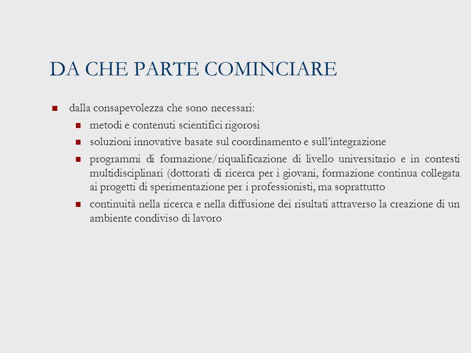 I PROGETTI INTERNAZIONALI ED EUROPEI INTERPARES Interpares 1 (1999-2001), Interpares 2 (2002-2006) e (in fase di progettazione) Interpares 3 (2007-2012): conservazione a lungo termine di documenti archivistici autentici (www.interpares.org):www.interpares.org Definizione di un quadro concettuale e terminologico coerente con i principi della diplomatica e dell'archivistica) Definizione di un modello di attività (verifica di autenticità, acquisizione, selezione, gestione conservativa nei depositi, descrizione) secondo lo standard OAIS Definizione di raccomandazioni e standard per gli archivi digitali prodotti in ambito di e-government, di ricerca scientifica, di produzione culturale Specifica analisi dei requisiti per la conservazione dei documenti prodotti in ambiente dinamico e interattivo