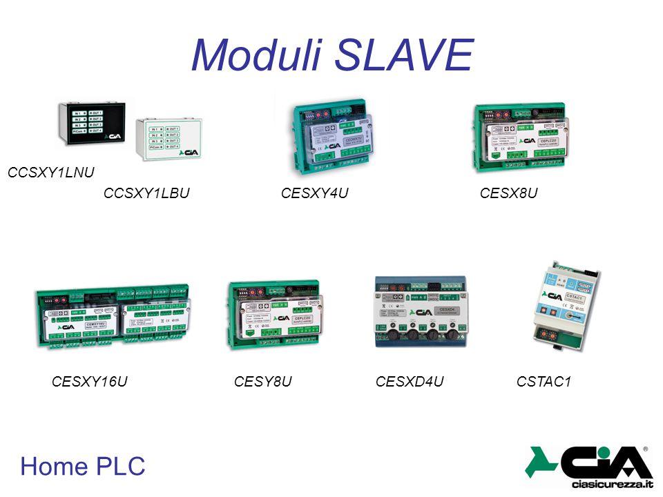 Home PLC Moduli SLAVE CCSXY1LBU CCSXY1LNU CESXY4U CESY8UCESXD4U CESX8U CESXY16UCSTAC1