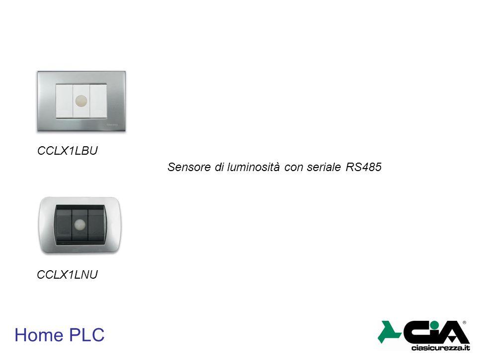 Home PLC CCLX1LBU CCLX1LNU Sensore di luminosità con seriale RS485