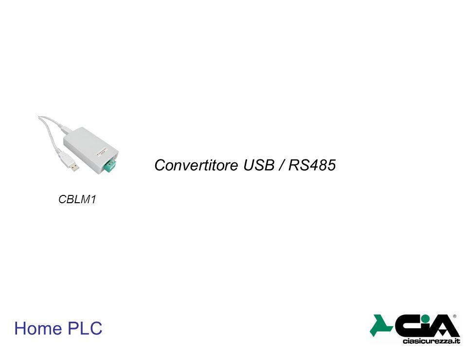Home PLC CBLM1 Convertitore USB / RS485