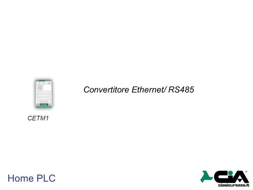 Home PLC CETM1 Convertitore Ethernet/ RS485