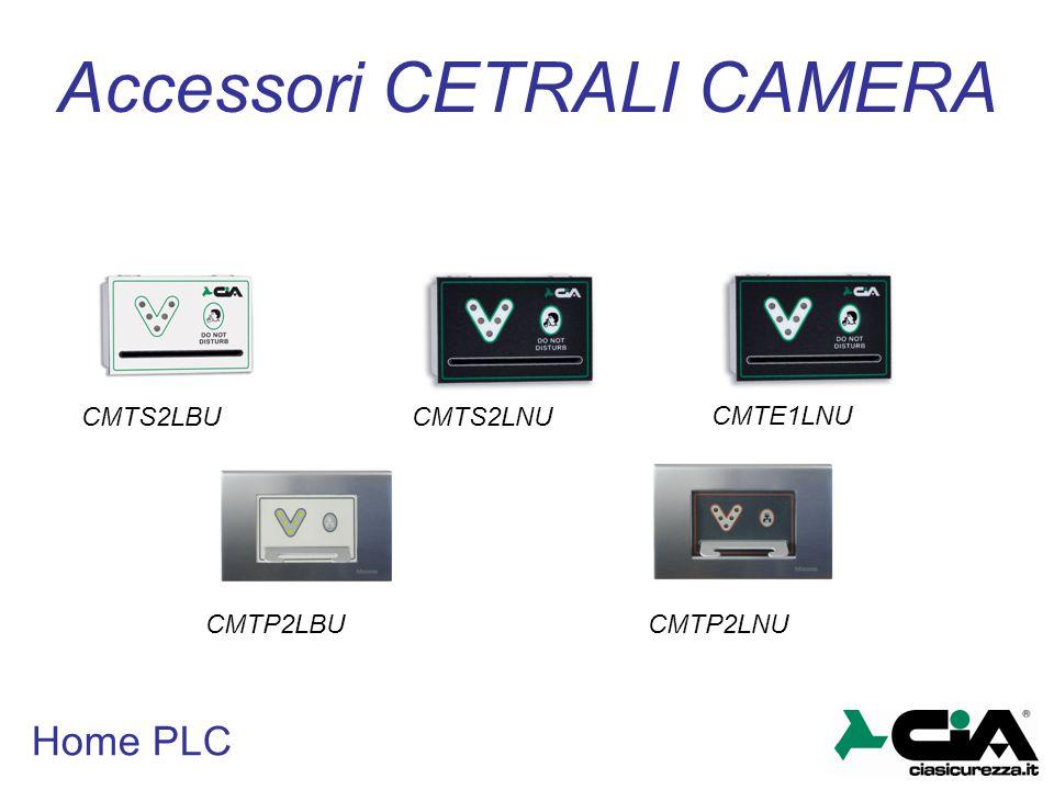 Home PLC Accessori CETRALI CAMERA CMTS2LBUCMTS2LNU CMTE1LNU CMTP2LBUCMTP2LNU