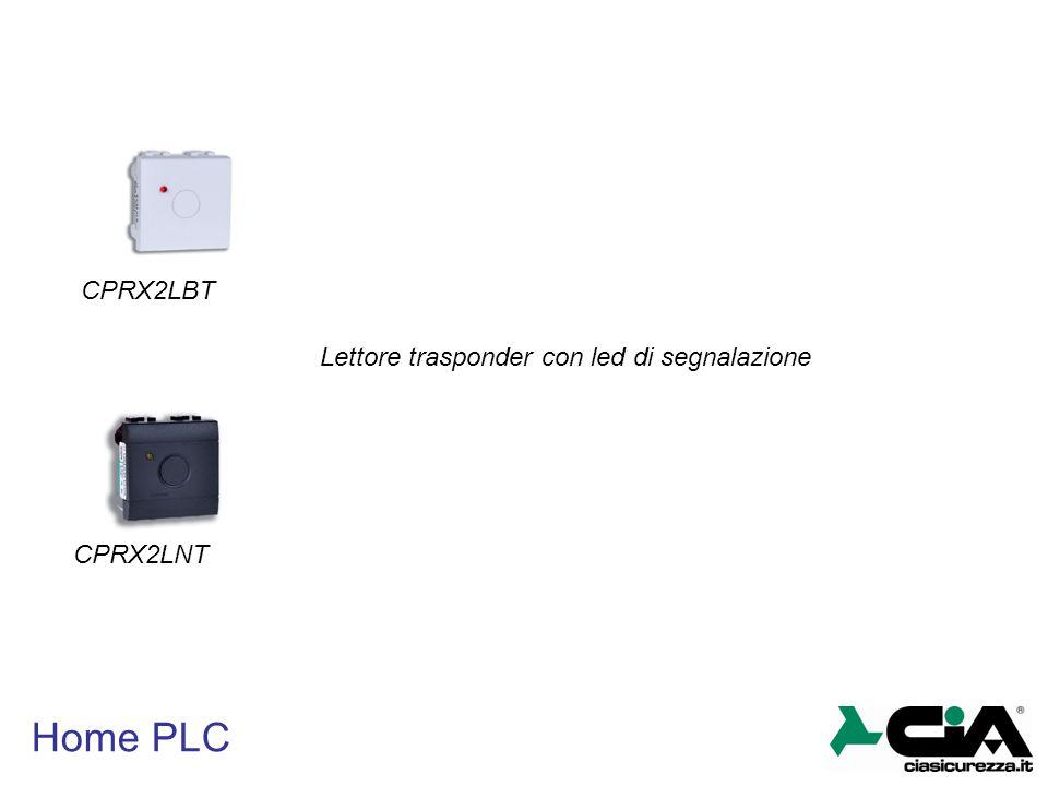Home PLC CPRX2LBT CPRX2LNT Lettore trasponder con led di segnalazione