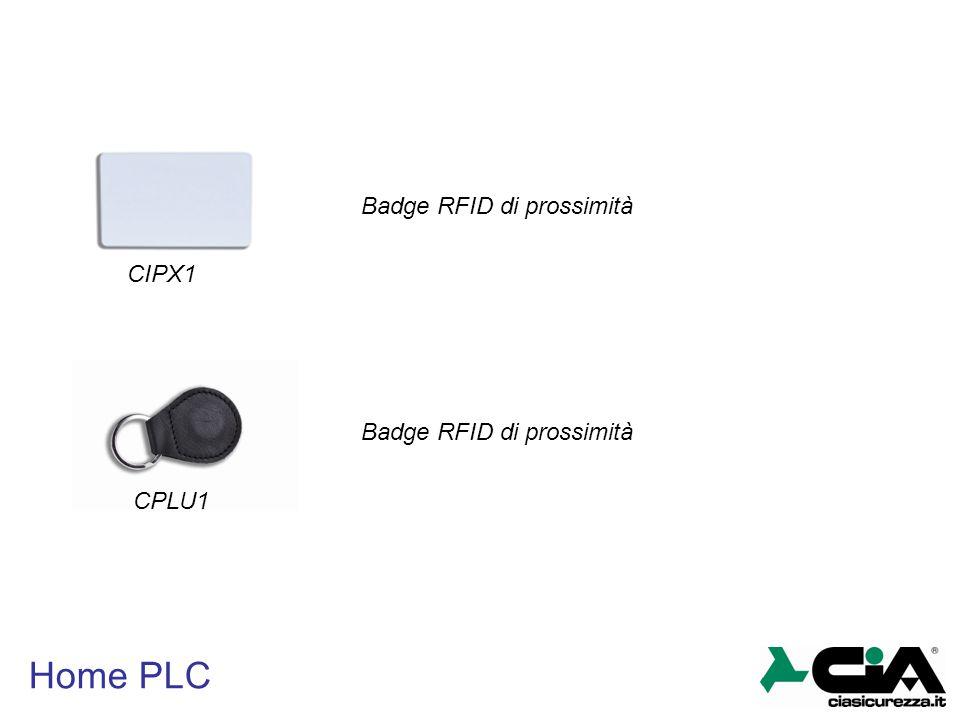 Home PLC CIPX1 CPLU1 Badge RFID di prossimità