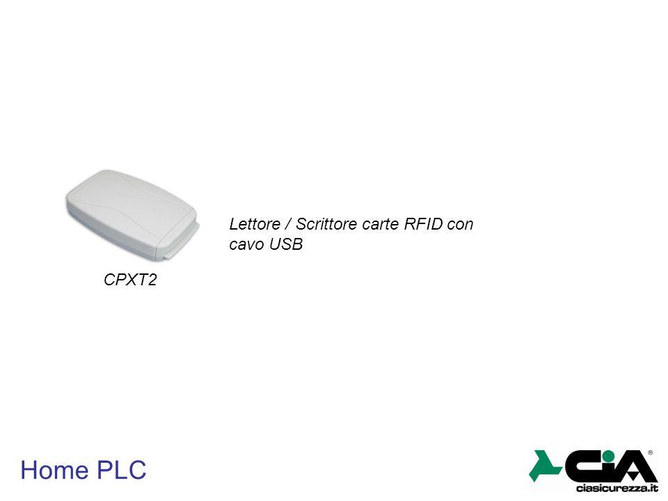 Home PLC CPXT2 Lettore / Scrittore carte RFID con cavo USB