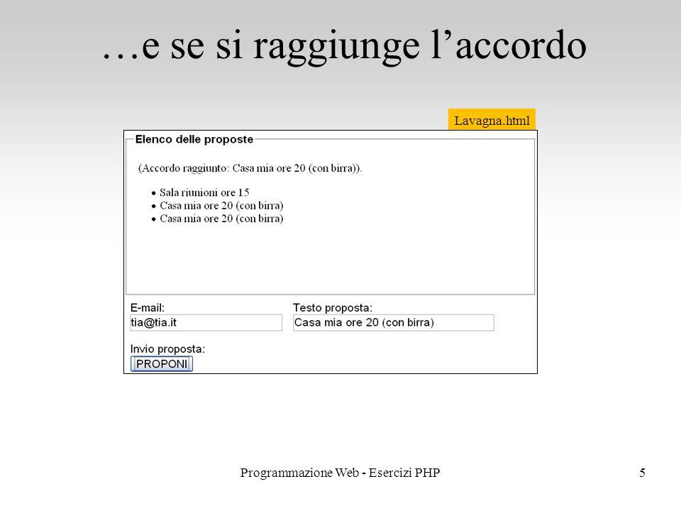 …e se si raggiunge l'accordo 5Programmazione Web - Esercizi PHP Lavagna.html