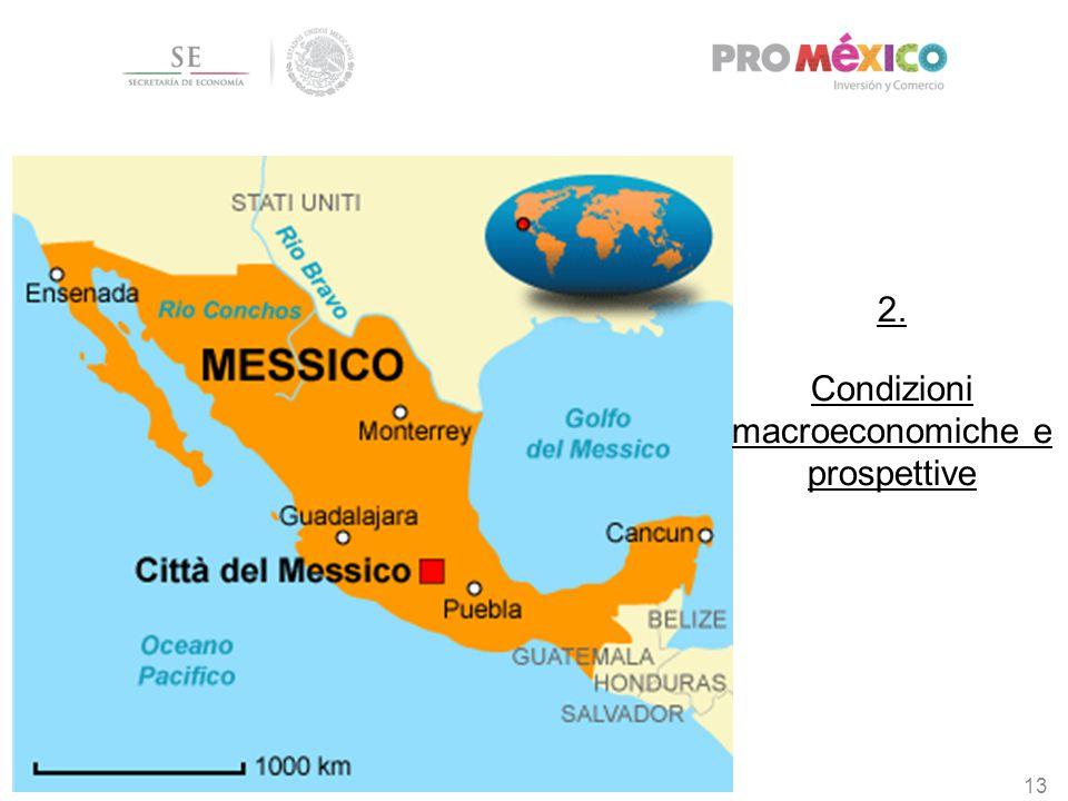 2. Condizioni macroeconomiche e prospettive 13