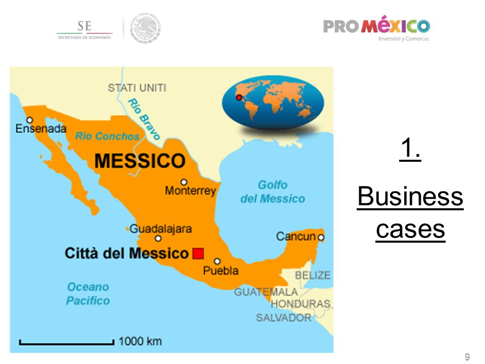 1. Business cases 9