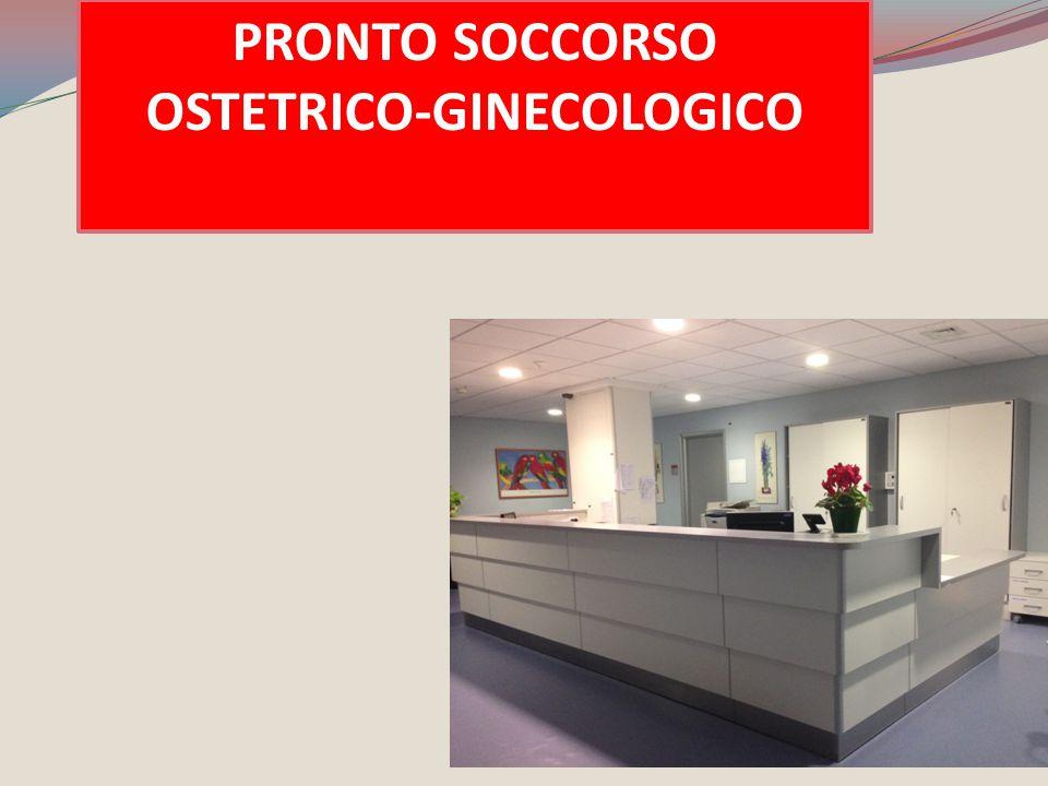 PRONTO SOCCORSO OSTETRICO-GINECOLOGICO