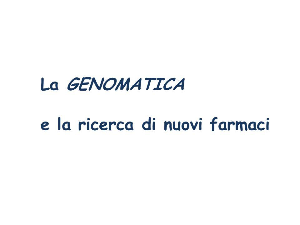 La GENOMATICA e la ricerca di nuovi farmaci