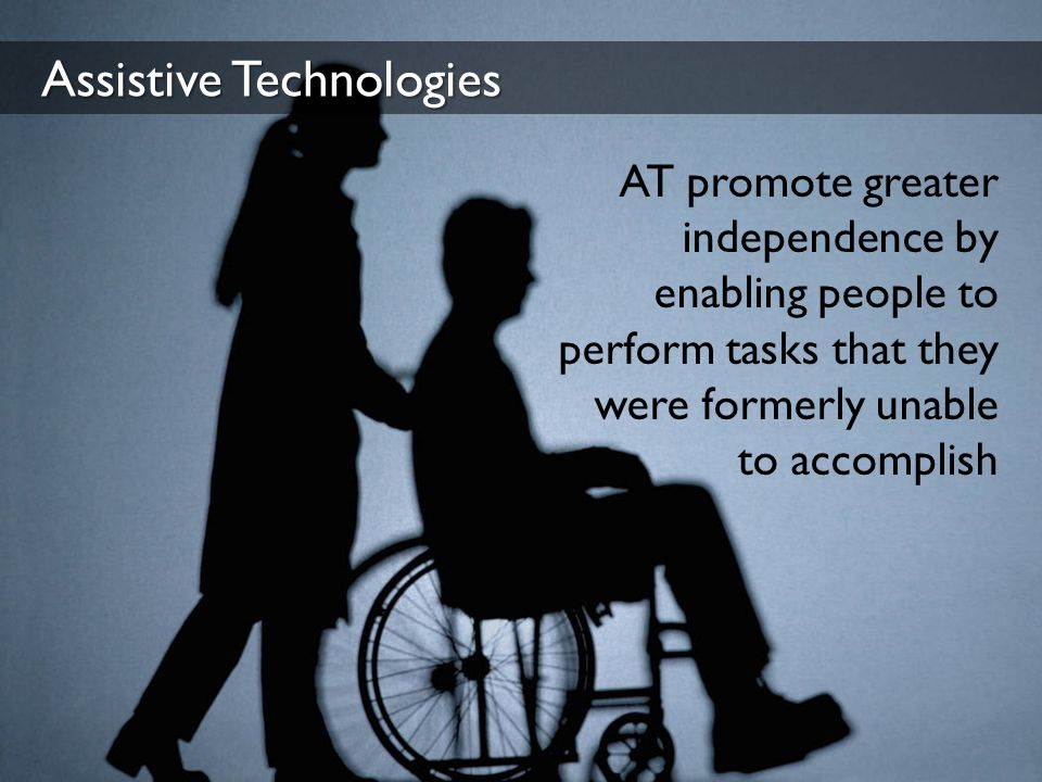 Assistive Technologies Technologies Disabilities Eye-Tracking ALS