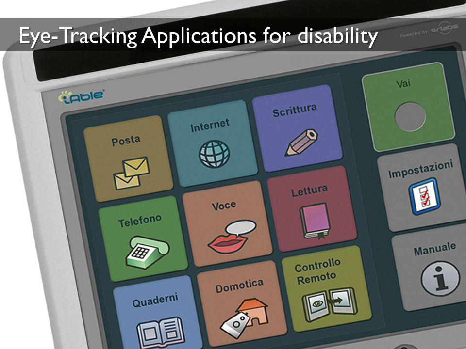 Eye-Tracking Applications for disability