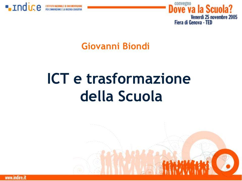 Giovanni Biondi ICT e trasformazione della Scuola
