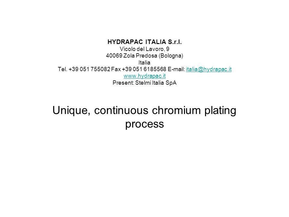 HYDRAPAC ITALIA S.r.l. Vicolo del Lavoro, 9 40069 Zola Predosa (Bologna) Italia Tel.