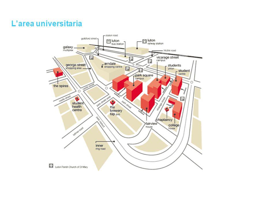 L'area universitaria