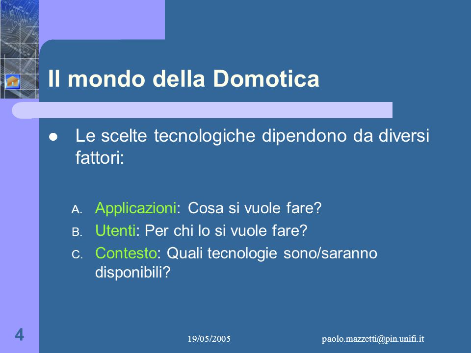 19/05/2005paolo.mazzetti@pin.unifi.it 5 A.