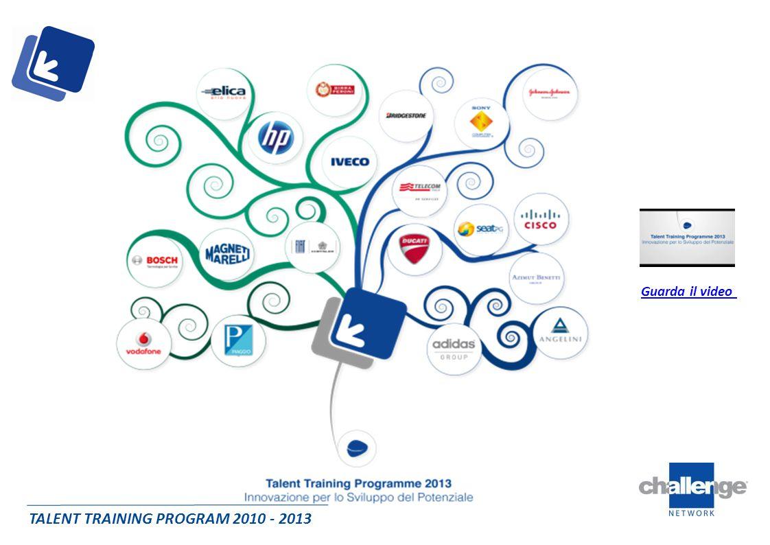 TALENT TRAINING PROGRAM 2010 - 2013