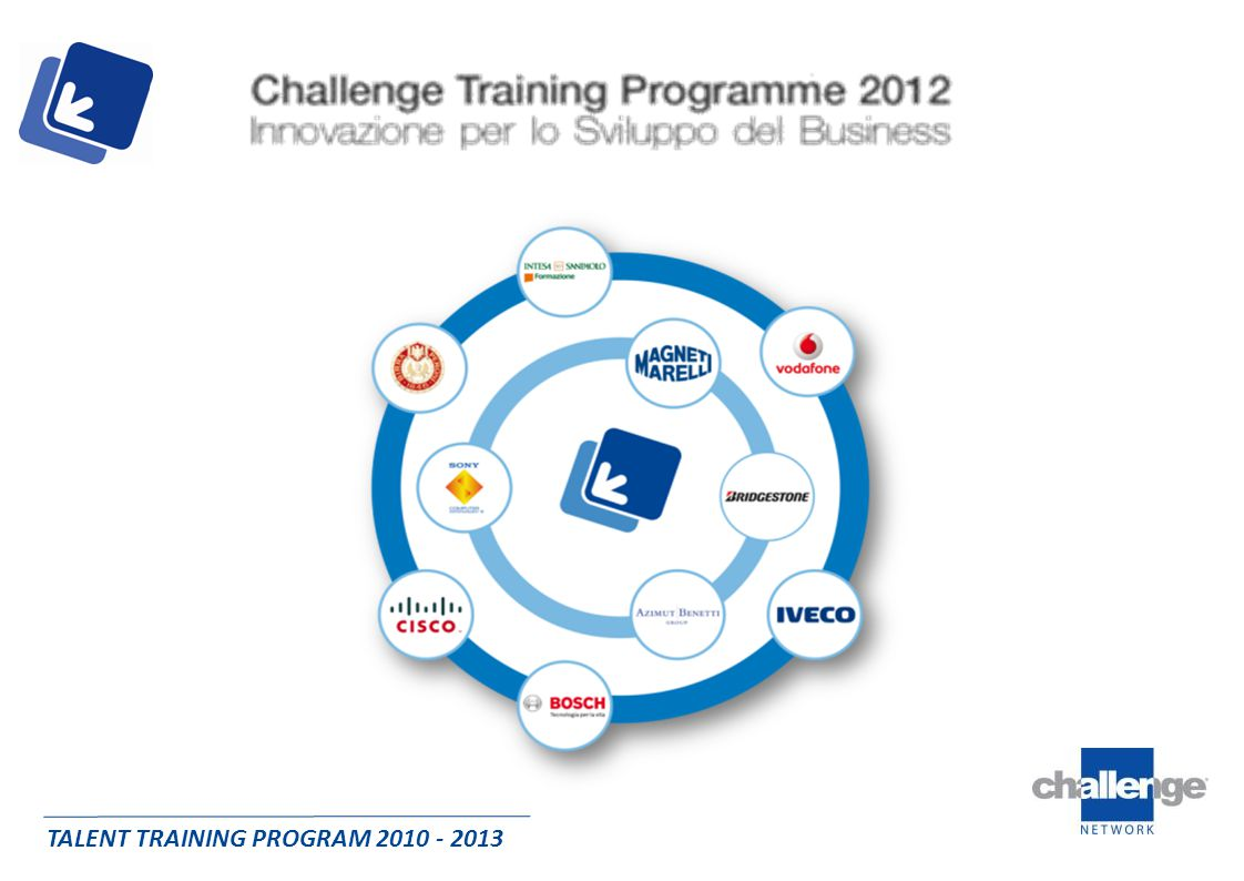 TALENT TRAINING PROGRAM 2010 - 2013