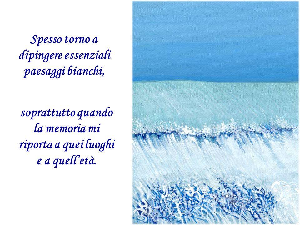 Da allora ho approfondito lo studio della neve e, in seguito, per Mondadori, realizzai intere collane serigrafiche dedicate al tema, diffuse con fortuna in Italia e all'estero.