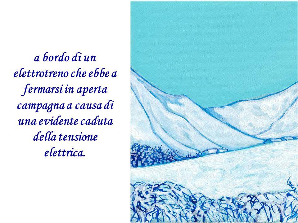 Nel tardo autunno del 1980, commissario di polizia in frontiera italo- francese, mi trovavo a percorrere la ferrovia Torino- Cuneo,